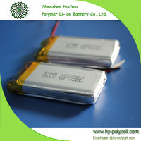 1203464 3.7V 2800mAh rechargeable lithium ion battery