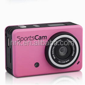 H2003 Full HD 1080P Sports Action Camera with Helmet