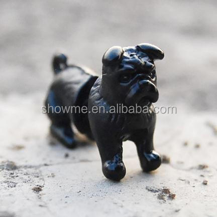Fancy stereo Pug dog earrings stereo Pug earrings women Men Rock earrings