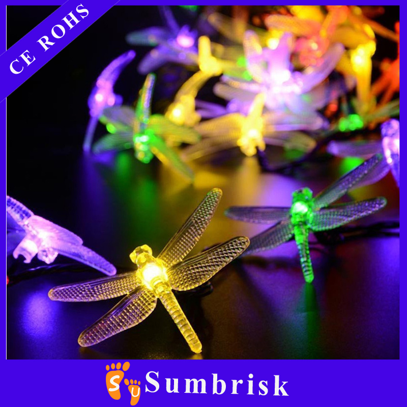 Waterproof decoration Solar RGB LED outdoor christmas light animals