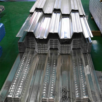 Hot dipped galvanized Sheet Material steel floor decking sheet/roofing sheet