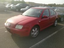 2000 VW Jetta VR6 car