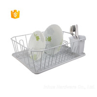 Single-Deck Powder Coating Dish Rack Set
