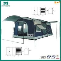 outdoor camping house shaped tents