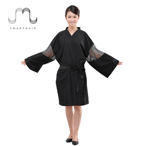 Fashionable Women Hair Beauty Tunics Nail Salon Uniform Thai SPA Uniform