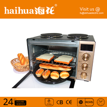 Top quality bread corn steel electric toaster oven