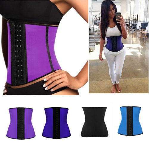 Women Sports Waist Training corsets underbust slimming belt waist supports