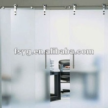 Office Double Glass Sliding Door YGD277