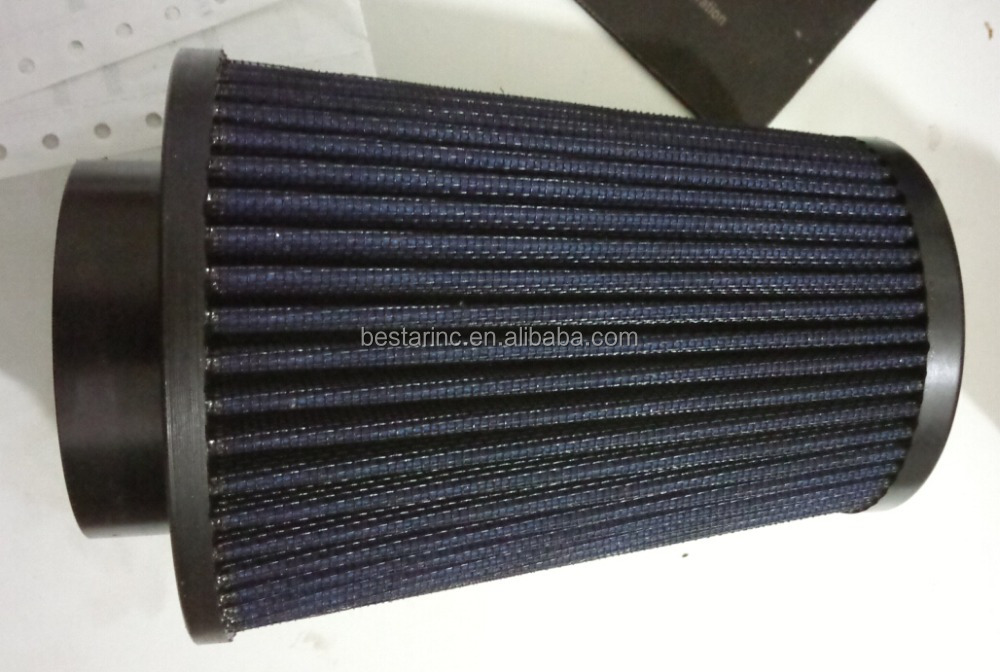 Automotive Cone Air Filter, Round Tapered Universal Air Filter