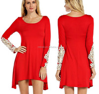 latest casual dress designs of winter, modal cotton solid knit dress, casual solid dress