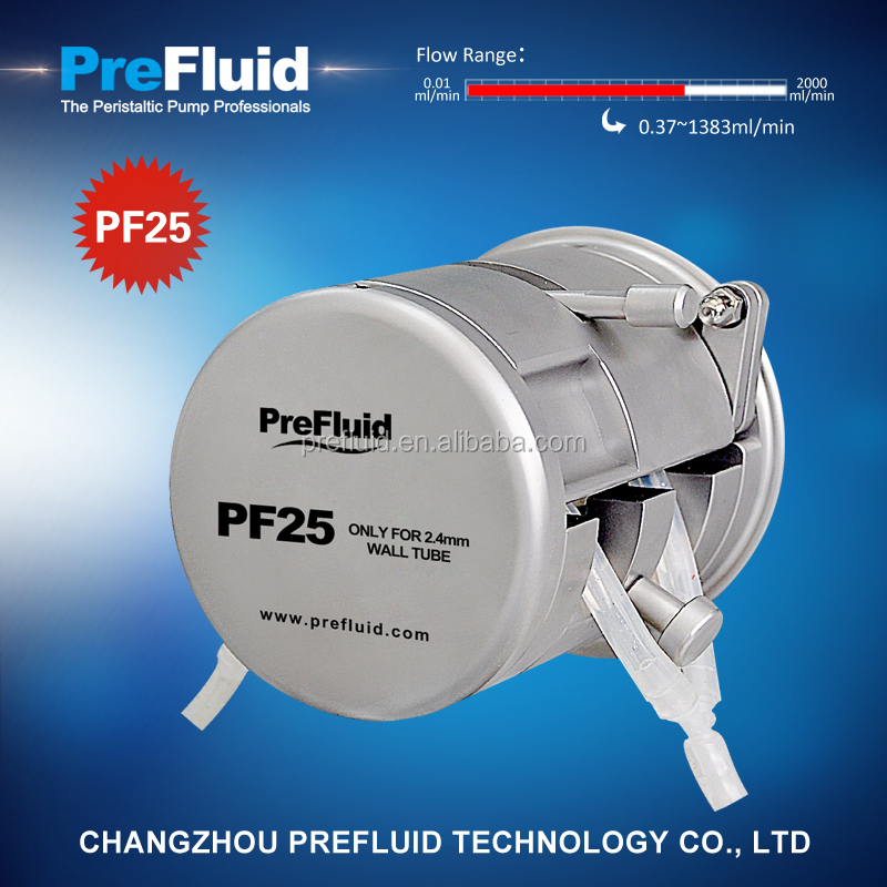 Prefluid PF25 peristaltic pump price list,peristaltic pump principle,ansi pump