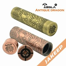 Alibaba com in Russian USA Electronic Cigarette Wholesale Jakeep Tesla Silver Dragon Mod