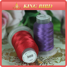 High Quality Reflective Thread for Embroidery Polyester 108d