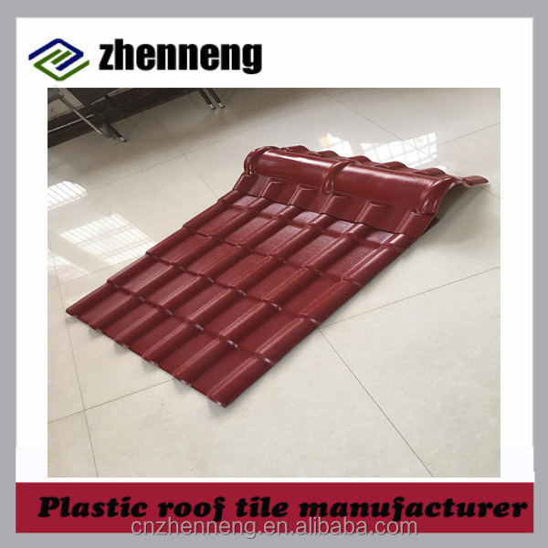Top Quality synthetic resin tile plastic roof shingles factory direct China