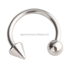 316LStainless Steel Nose Piercing Horseshoe Ring Body Jewelry
