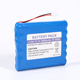18650 Nominal capacity 8800mAh 2P connector 11.1v rechargeable li-ion battery pack