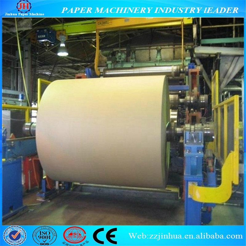 1760mm High Quality Carton Box Paper Making Machine, Corrugated Cardboard Machine, Paper Production Line