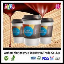 Single Wall Coffee Paper Cup with Lids