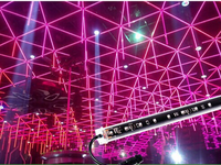 dmx512 dxm 3d led tube light led 3d tube for night club