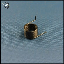 Custom Small Force Torsion Spring in Coil/Spiral Shape