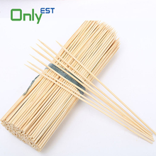 One point disposable natural grade A round bamboo sticks