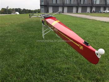 New color deisgn red color 4- race shell/coxless four