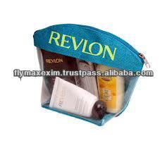 jute cosmetic pouch bag