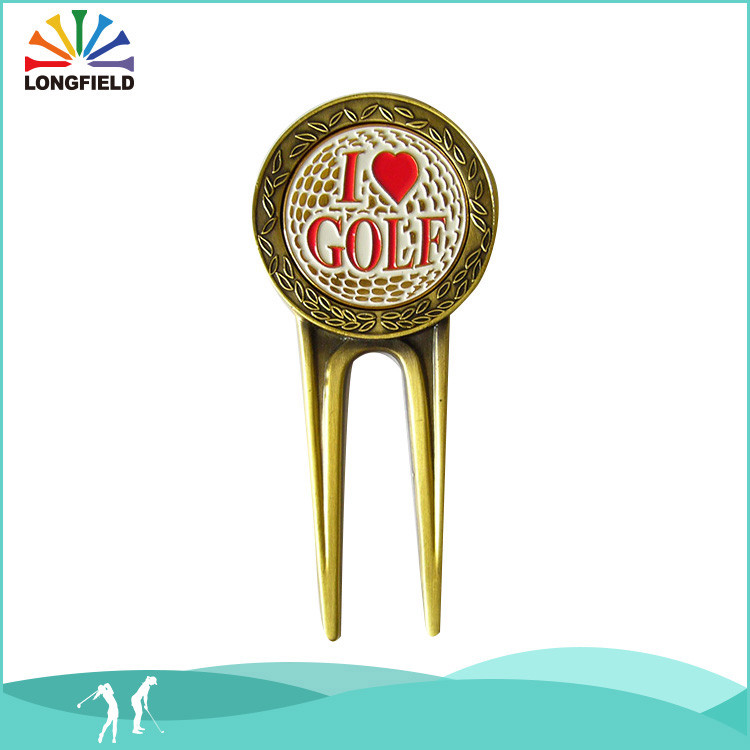 China Wholesale Metal Golf Pitch Fork/Divot Tool clubs