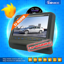 9inch removable headrest with DVD player