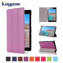Tablet Cases Purple For Lenovo Tba2 A7-20F Cover Case Tablet 7 Inch