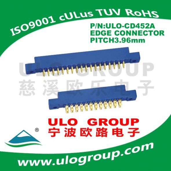 2016 Hot sale Free sample EDGE CONNECTOR PITCH: 3.96mm