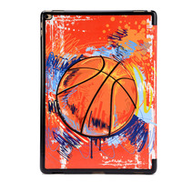 Baseketball Pattern Tablet Cases PC Case Shockproof Flip PU Leather Tablet Case For Ipad Pro