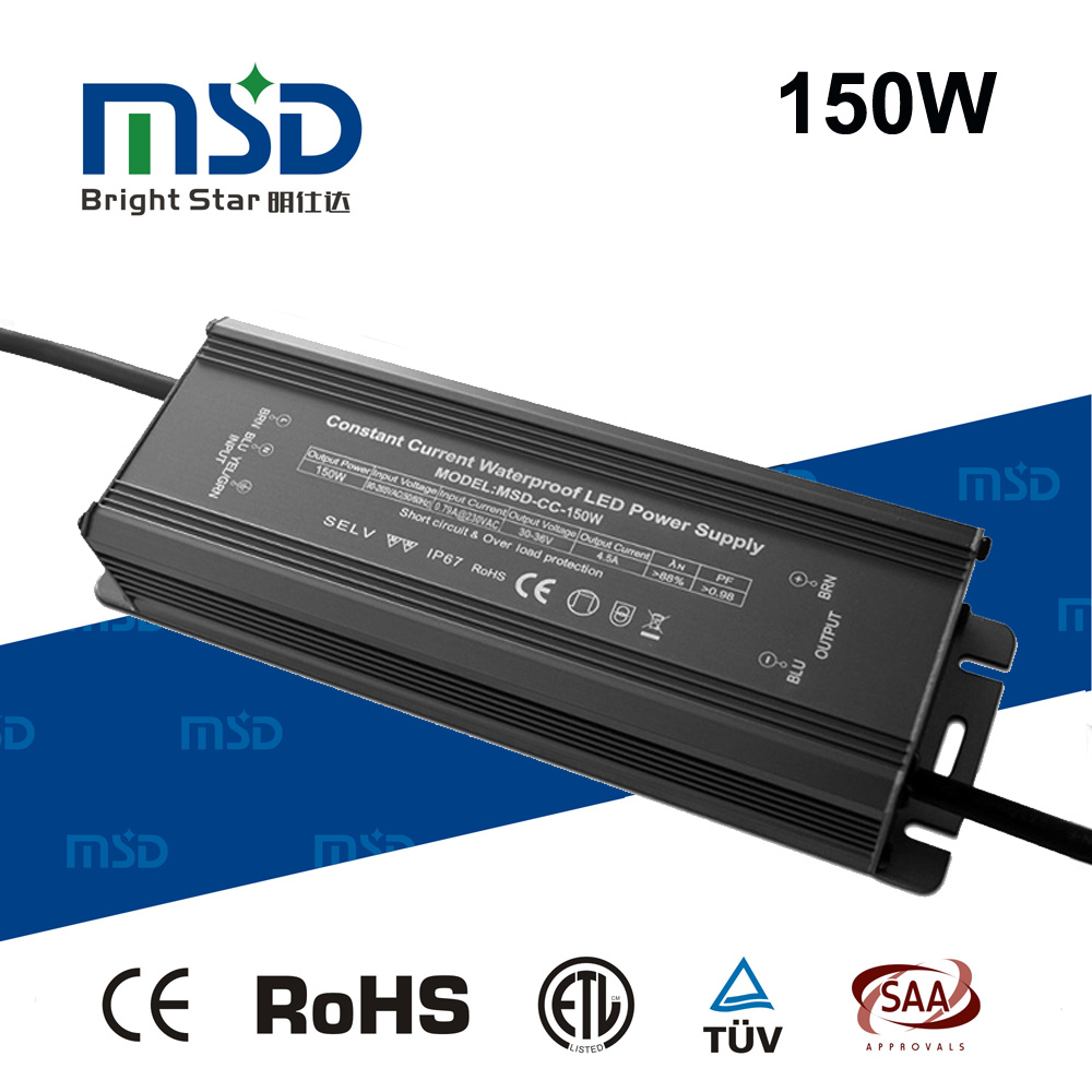 2900mA 40W 45W 70W 100W 130W 160W 220W 240W 30W Waterproof Constant Current LED Driver , 2900mA LED Power Supply