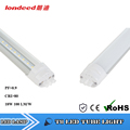 Energy saving tube light 18w Cool white light Clear Cover 4ft led tube light fixture used in Home/Supermarket/Garage