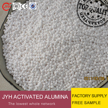 water treatment activated alumina ball filter media
