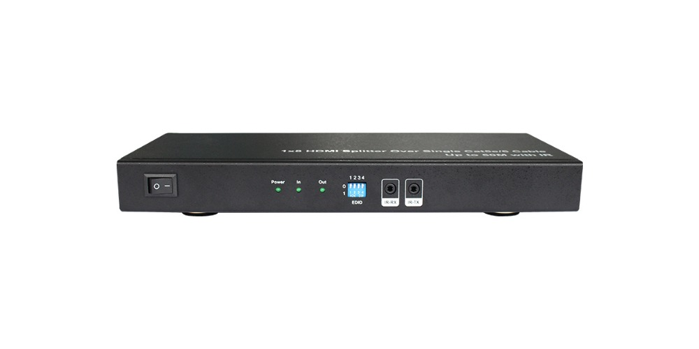 HDMI splitter HD 1080P via cat5e/6 high speed transmission 50m supporting 1 HDMI loop output