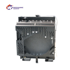 Weichuang Beinei series hot water cooling generator radiators BWFW01-1