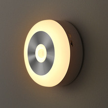 Children small night light baby led flexible wall light 120degree