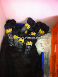 BEST FEED BACK TO THE CUSTOMER NEED WITH INDIAN HUMAN HAIR PRODUCTS MANUFACTURES TO MOTHER TERESA HAIR EXPORTS