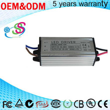 Shenzhen Factory Constant current single output DC 25-45V 300mA 9-12W ac/dc IP66 Waterproof LED Driver Power supply