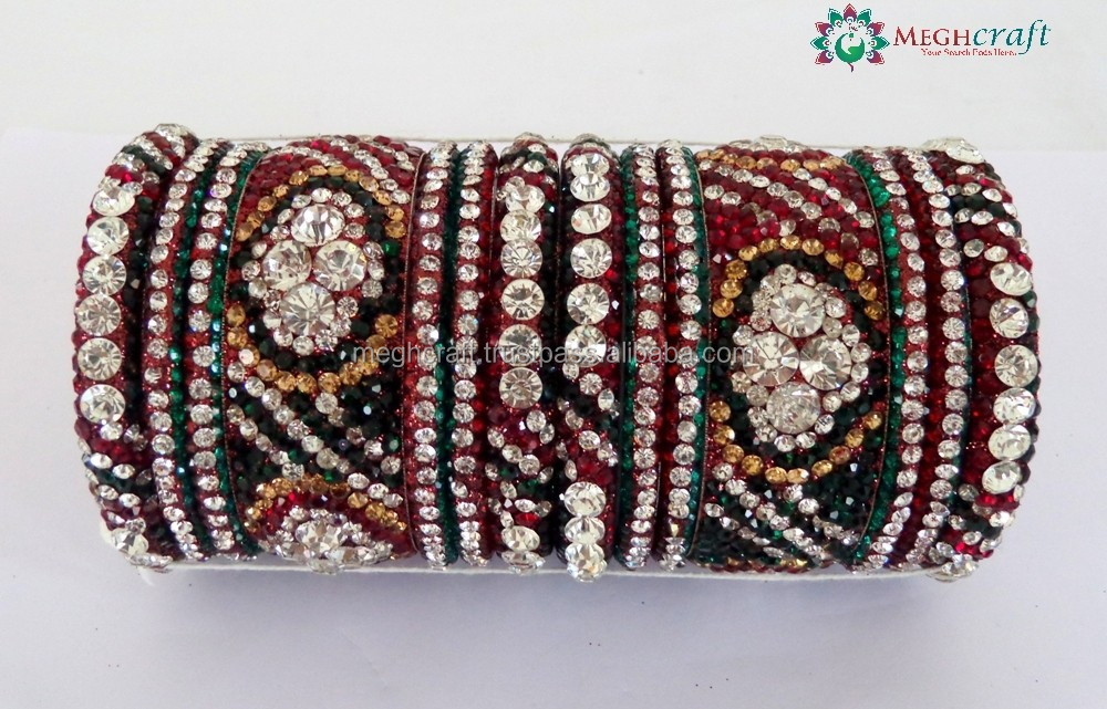 Indian Bridal chura sets - Indian traditional wedding chura bangles - Dulhan chura bangles