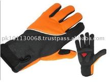 GS New Bicycle & Auto Racing Sportswear Black Cycling Winter Gloves in Sialkot With OEM Service