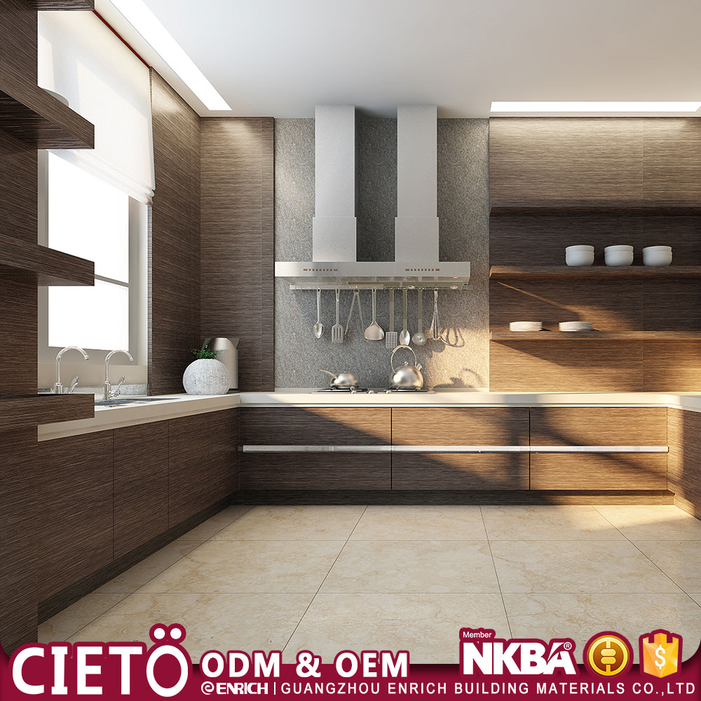 building materials guangzhou new model melamine kitchen cabinet