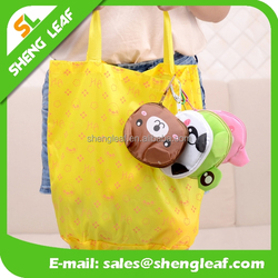 Famous folding tote bag of high quality lovely eco folding bag