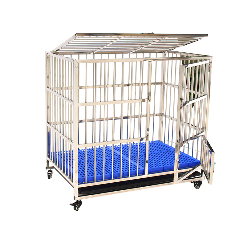 Economic Standard Stainless Steel Folding Welding Wire Mesh Dog Cage