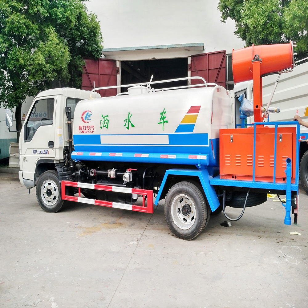 Cheap price 5 ton dust pesticide water cannon sprinkler <strong>truck</strong>