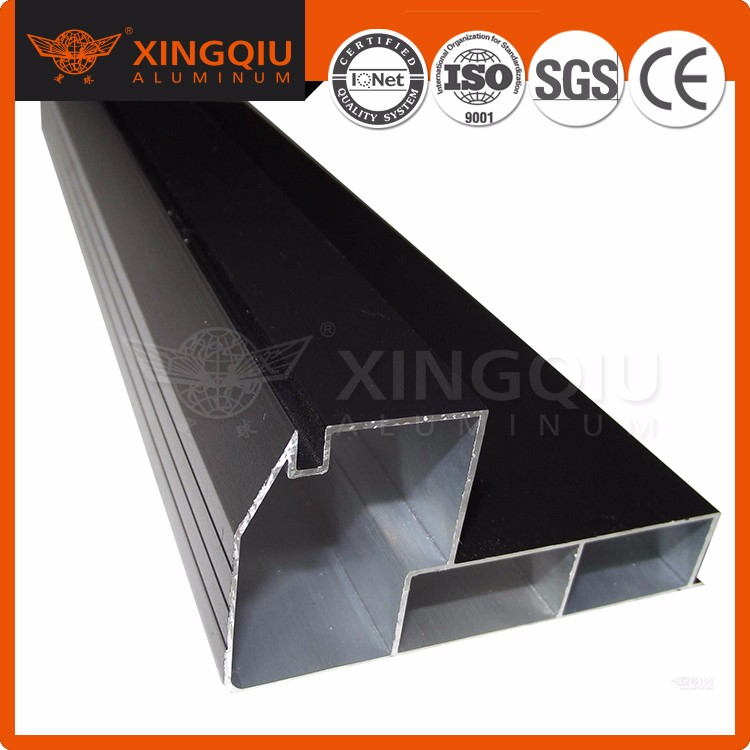 Aluminum extrusion profile for kitchen cabinet door