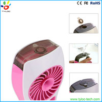 Multi functional cool usb humidifier fan, handheld water spray fan