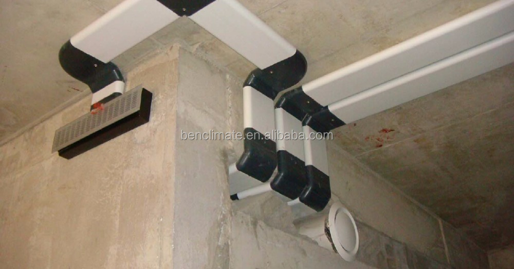 Central Flat Ventilation Ducting for Commercial HVAC System
