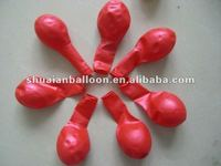 beautiful color latex balloons round shape for decoration metallic balloons